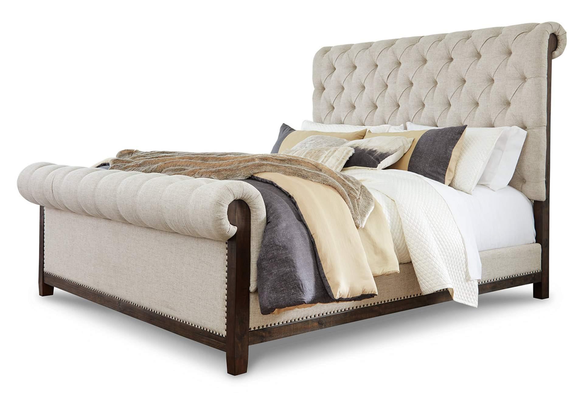 Hillcott King Upholstered Bed