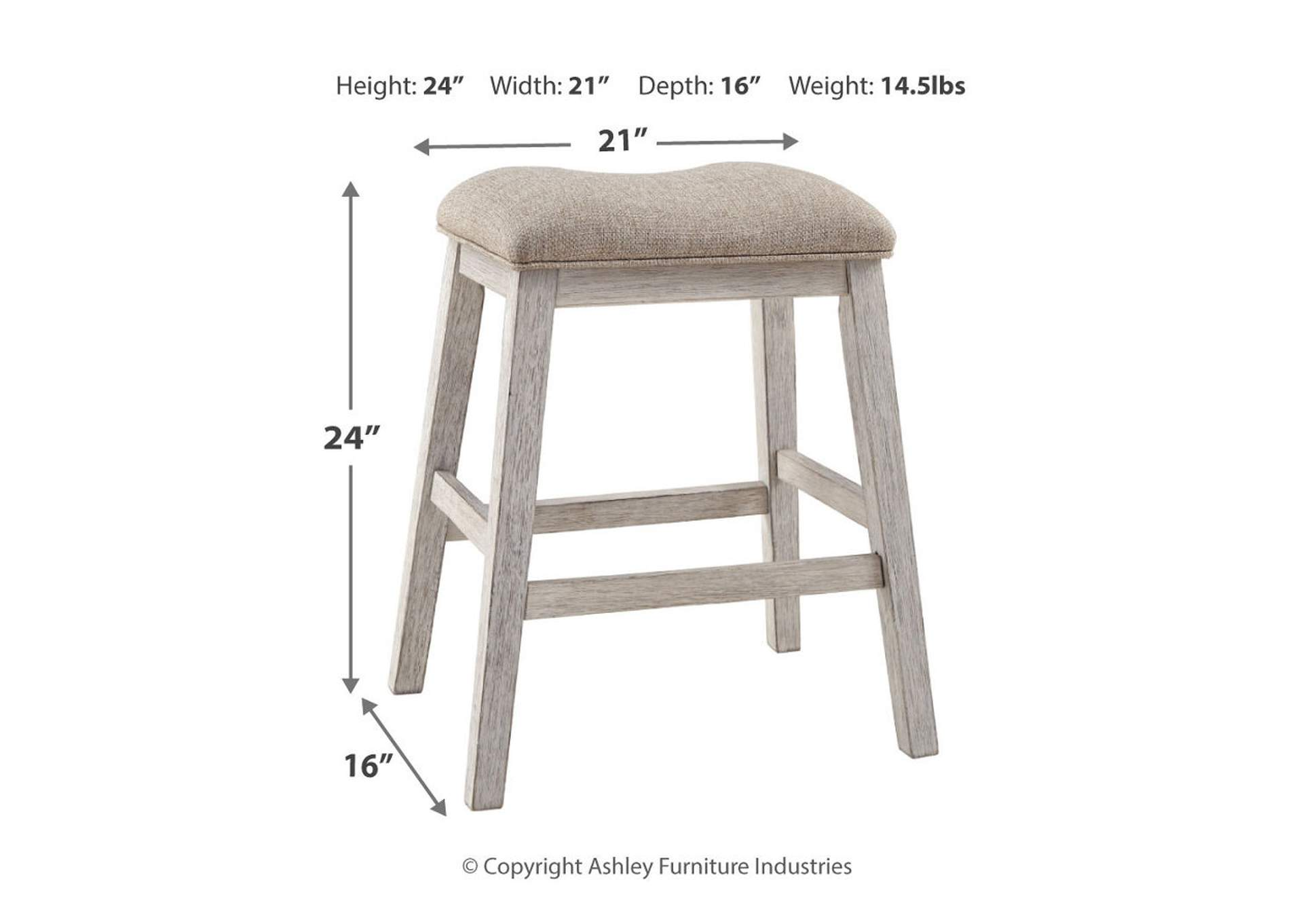 Skempton Counter Height Bar Stool (Set of 2)