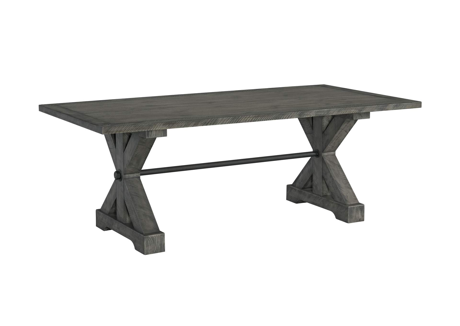 5062 Old Forge Trestle Dining Table