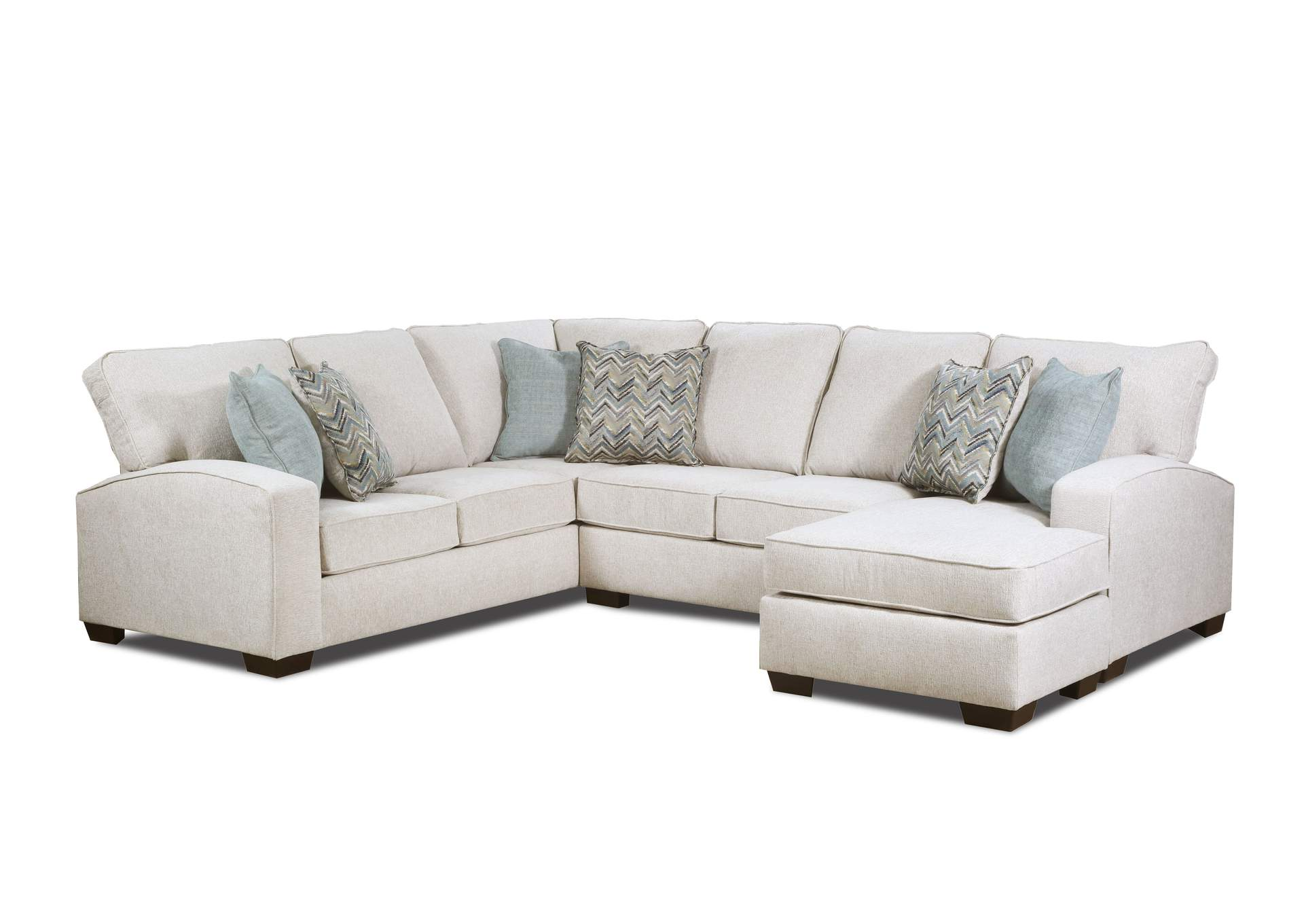 7077 Three Piece Sectional
